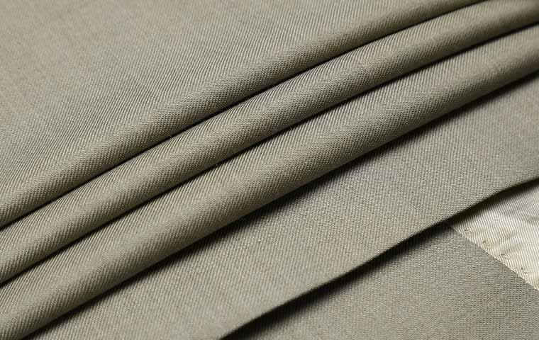 浅咖色绒面净色全羊毛经典商务精品套装